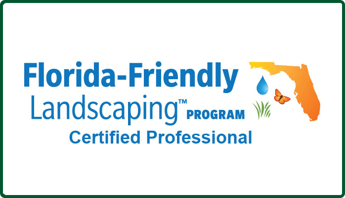 More About Florida Friendly Landscaping Certified Professional